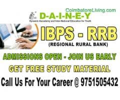 coimbatore - Upcoming IBPS CLERICAL Coaching classes at DAINEY