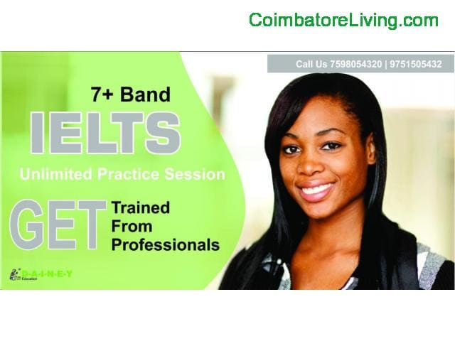 coimbatore - IELTS | TOFEL GET TRAINED BY PROFESSIONALS - 1/1