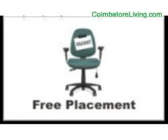 FREE PLACEMENTS – IMMEDIATE FREE PLACEMENTS IN CORPORATE COMPANIES IN COIMBATORE, PLACEMENTS IN TAMI