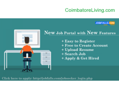 coimbatore -Jobfalls Job Search engine for Recruiter and Candidates