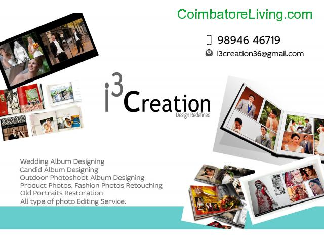 coimbatore - wedding album designing works - 1/1