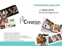 wedding album designing works