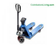 Weighing Scale Pallet Truck | Fabtex equipments