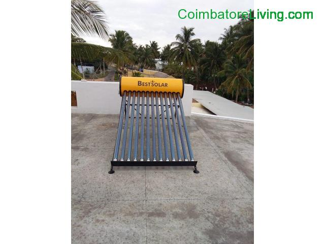 coimbatore - SOLAR WATER HEATER & BATTERY SALES CALL @ 9940904828 /9944160204 - 1/4