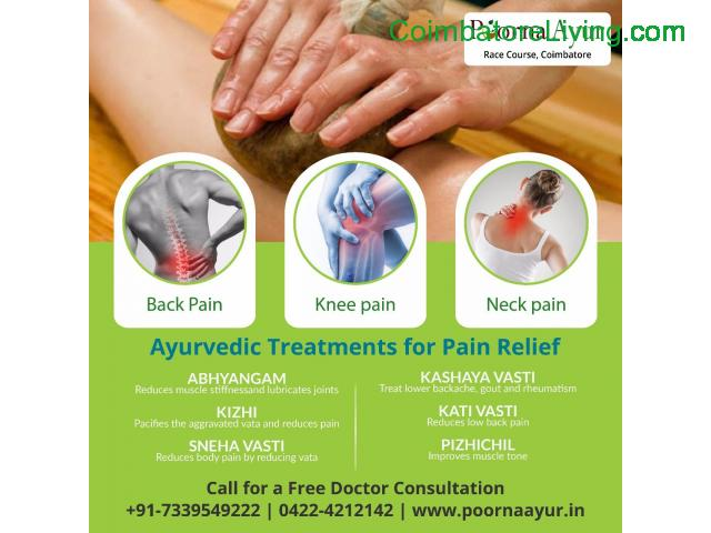 Knee Pain Ayurveda Treatment in Coimbatore - 1/1
