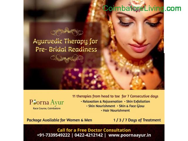 coimbatore - Ayurveda Bridal Package at PoornaAyur - 1/1