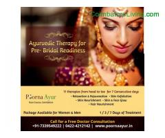 coimbatore -Ayurveda Bridal Package at PoornaAyur