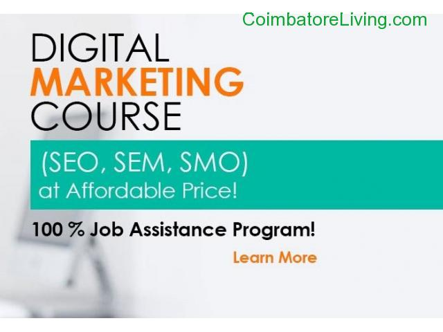 Course Opening for Digital Marketing Training and Placement!!! - 1/1