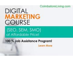 coimbatore -Course Opening for Digital Marketing Training and Placement!!!