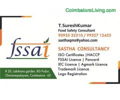 coimbatore - FSSAI License Consultants / Food Safety License Consultants