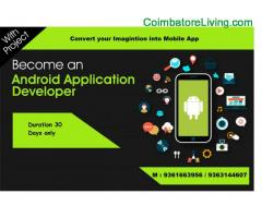 Best Android Training Mobile Application Training in Coimbatore – ANGLER Academy