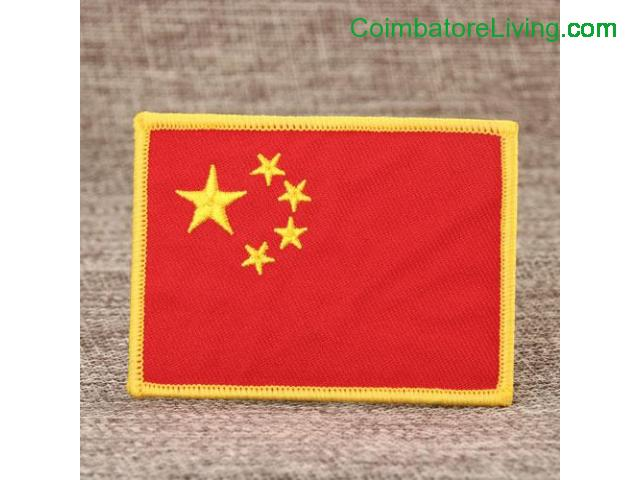 coimbatore - National Flag Cheap Patches - 1/1