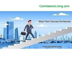 LEARN CAREER BASED CERTIFICATION / DIPLOMA COURSES IN COIMBATORE