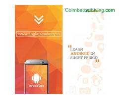 Android App Development Training in Coimbatore - ANGLER Academy