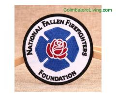 coimbatore -Firefighter Make Embroidered Patches
