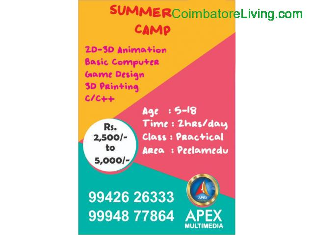 coimbatore - Animation Summer Camp 2019 - 1/1