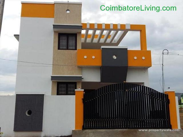 coimbatore - DTCP APPROVED INDIVIDUAL VILLAS AND PLOTS FOR SALE - 1/4