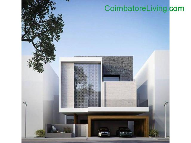 coimbatore - DTCP APPROVED INDIVIDUAL VILLAS AND PLOTS FOR SALE - 2/4
