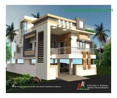 coimbatore - Saravanampatty, Kalapatti Gated Community site for sale