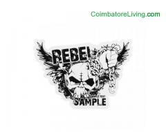 coimbatore -Rebel Sample Custom Stickers | High Quality Custom Stickers | GS-JJ.com ™