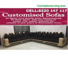 coimbatore - CUSTOMISED SOFAS*DIRECT FACTORY SALE*HIGH QUALITY*REASONABLE