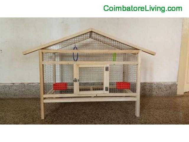coimbatore - Cage for sale - 1/4