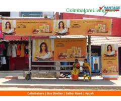 coimbatore - Out-Of-Home Advertising at Coimbatore Bus Shelters
