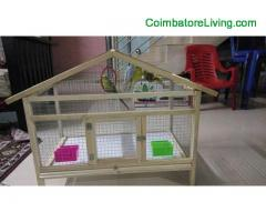 coimbatore -Cage for sale all place transport available