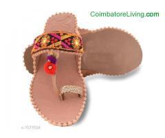 coimbatore - Embroidered Women's Flipflops
