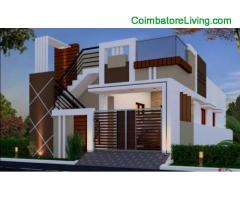 coimbatore -2bhk individual house for sale at thoppampati MTP Road
