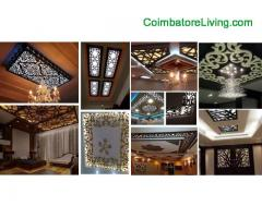 coimbatore -Design ceiling with cnc modeling