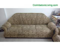 coimbatore -Super Good Condition 3+1 Rajasthan Sofa