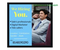 coimbatore -Wanted... Wanted... Wanted..