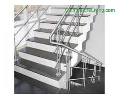 coimbatore -Hand rails for stain less Steel