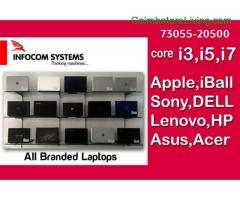 coimbatore -Laptops, Desktops & All Accessories Available