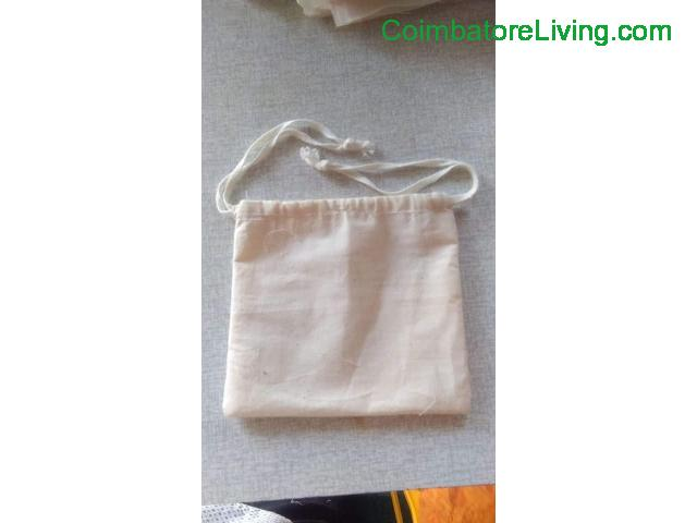 coimbatore - We are doing 100%cotton bag - 1/1