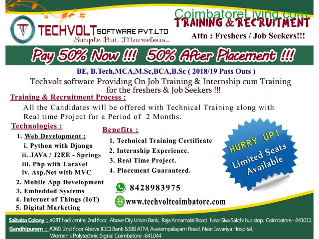 coimbatore - PYTHON TRAINING WITH PROJECT,PYTHON TRAINING WITH PLACEMENT - 2/3