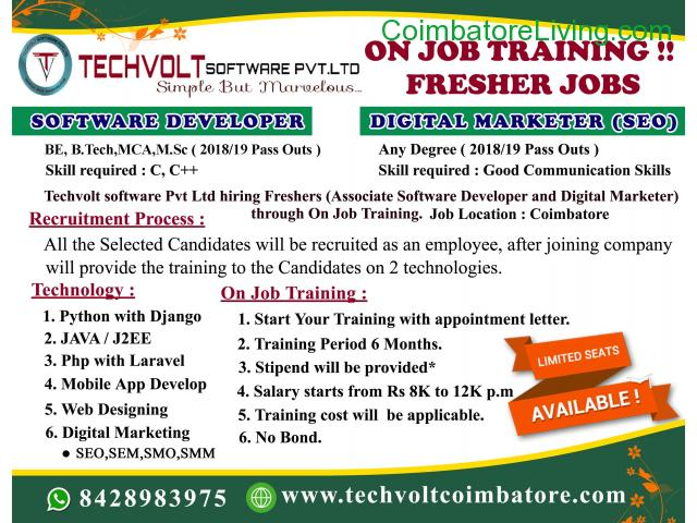coimbatore - INTERNSHIP PROGRAM||TRAINING PROGRAM||STUDENTS INTERNSHIP - 3/3