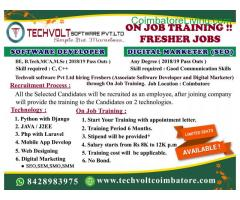 coimbatore - INTERNSHIP PROGRAM||TRAINING PROGRAM||STUDENTS INTERNSHIP - Image 3/3