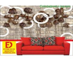 coimbatore -3D WALL PAPER ROYAL PLAY tex true work