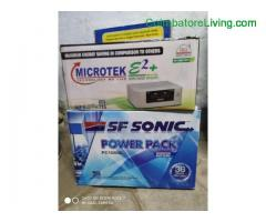 coimbatore -UPS BATTERY COMBO OFFER
