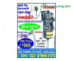 coimbatore -INSTANT RUNNING WATER HEATERS Portable models