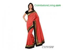 coimbatore -Poly Cotton Silk Saree