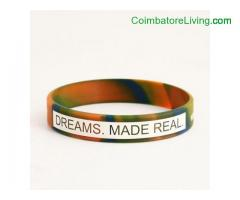 coimbatore -Dreams. Made Real. Simply Wristbands