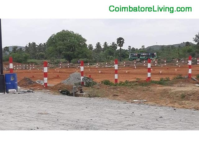 coimbatore - DTCP APPROVED PLOTS SALE IN SULUR - 1/1