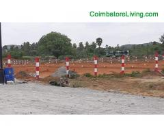 coimbatore -DTCP APPROVED PLOTS SALE IN SULUR
