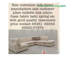coimbatore -New customise sofa