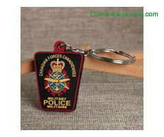 coimbatore -Military Police PVC Keychain