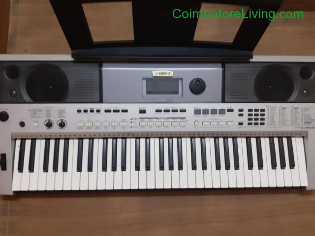 coimbatore - Used New YAMAHA PSR-I455 Keyboard for sale - 1/4