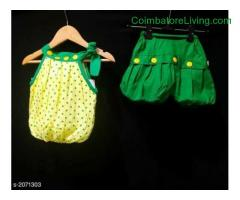 coimbatore -Cherry Slinky Girl's Clothing Set
